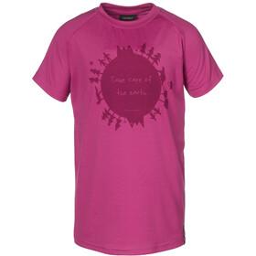 Isbjörn Earth t-shirt Kinderen roze